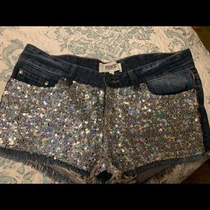 Victoria's Secret Pink Sequin Shorts